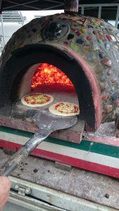 石釜ピザ体験